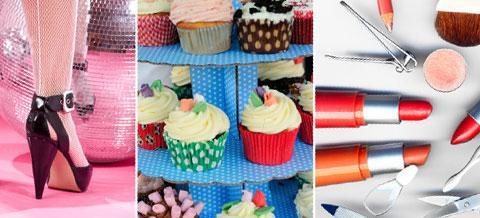 Klackar, cupcakes och smink ska locka kunder till ett nytt tjejgym.