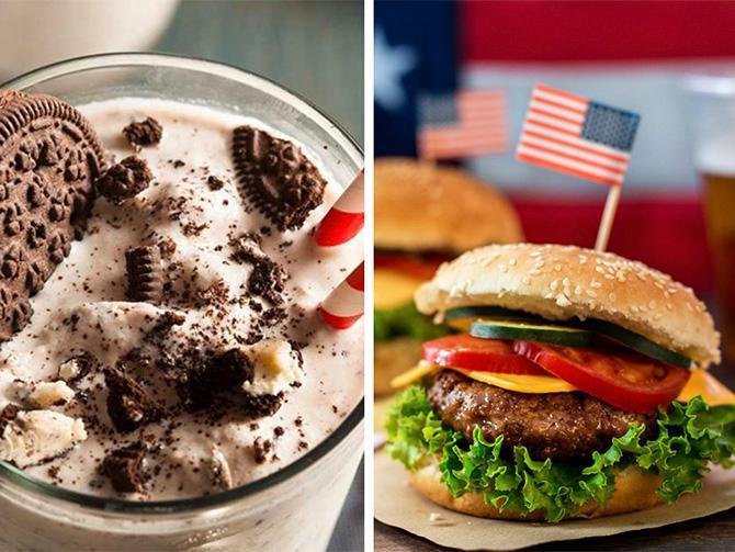 Orka presidentvalet. Ladda med burgare, snacks och milkshake.
