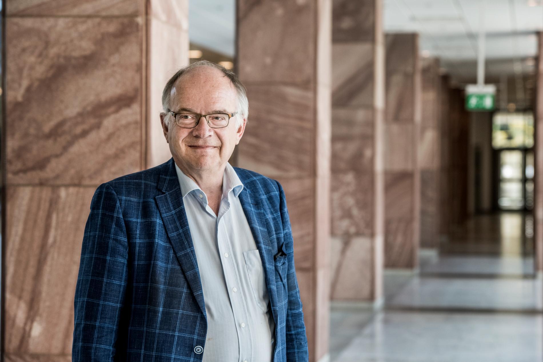 Göran Stiernstedt, regeringens särskilde utredare om primärvårdens organisation, presenterar ett slutbetänkande på tisdagen. Arkivbild.