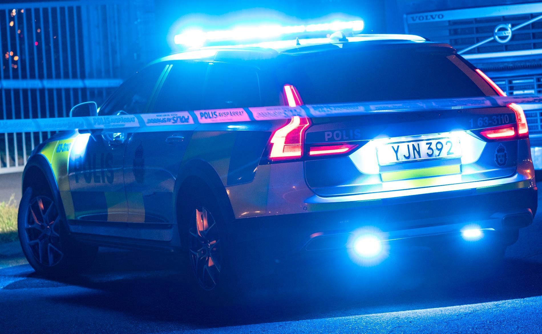 Minst tre personer har skadats i ett bråk i Västervik. Arkivbild.