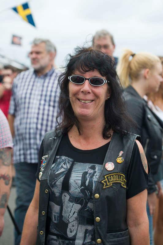 Katarina Larusson, 47, butiksbiträde, Karlstad:- Nja, en Volvo är väl inget man kan cruisa i eller åka på Power Meet med.