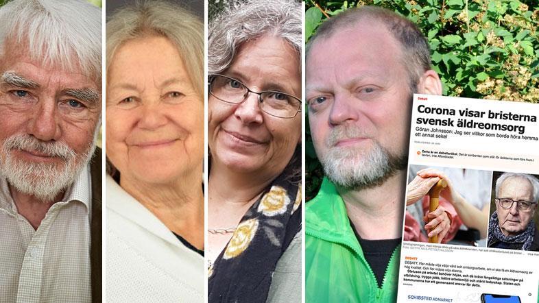 Pandemins framfart, är detta den väckarklocka som krävs för att stoppa de snart tjugoåriga neddragningarna av resurser till äldreomsorgen, skriver Gröna Seniorer (MP).