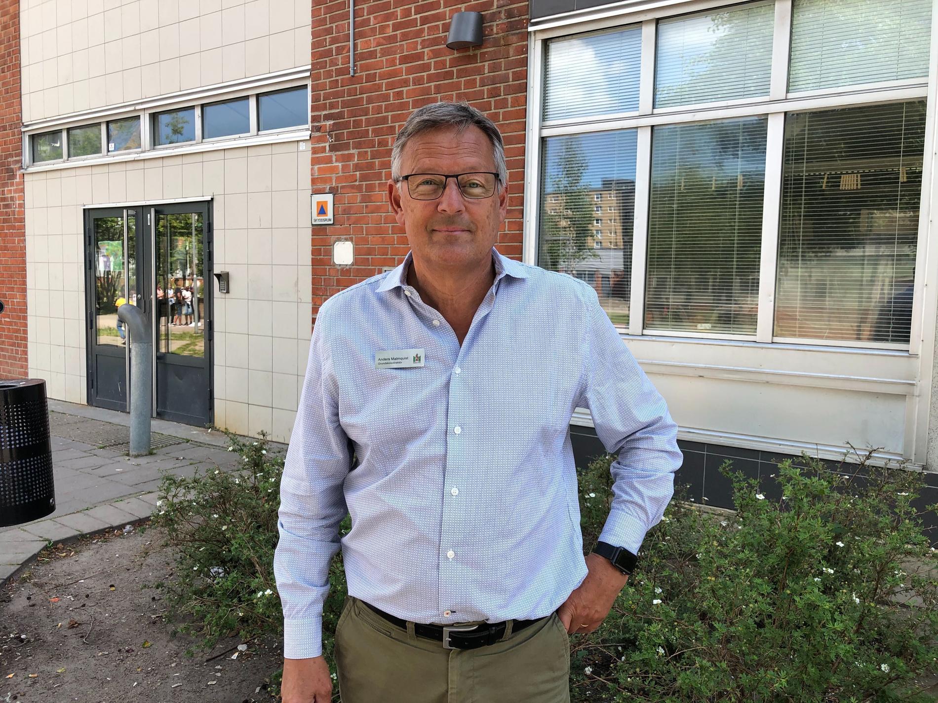 Anders Malmquist, grundskoledirektör, överraskades av resultaten med tanke på coronafrånvaron.