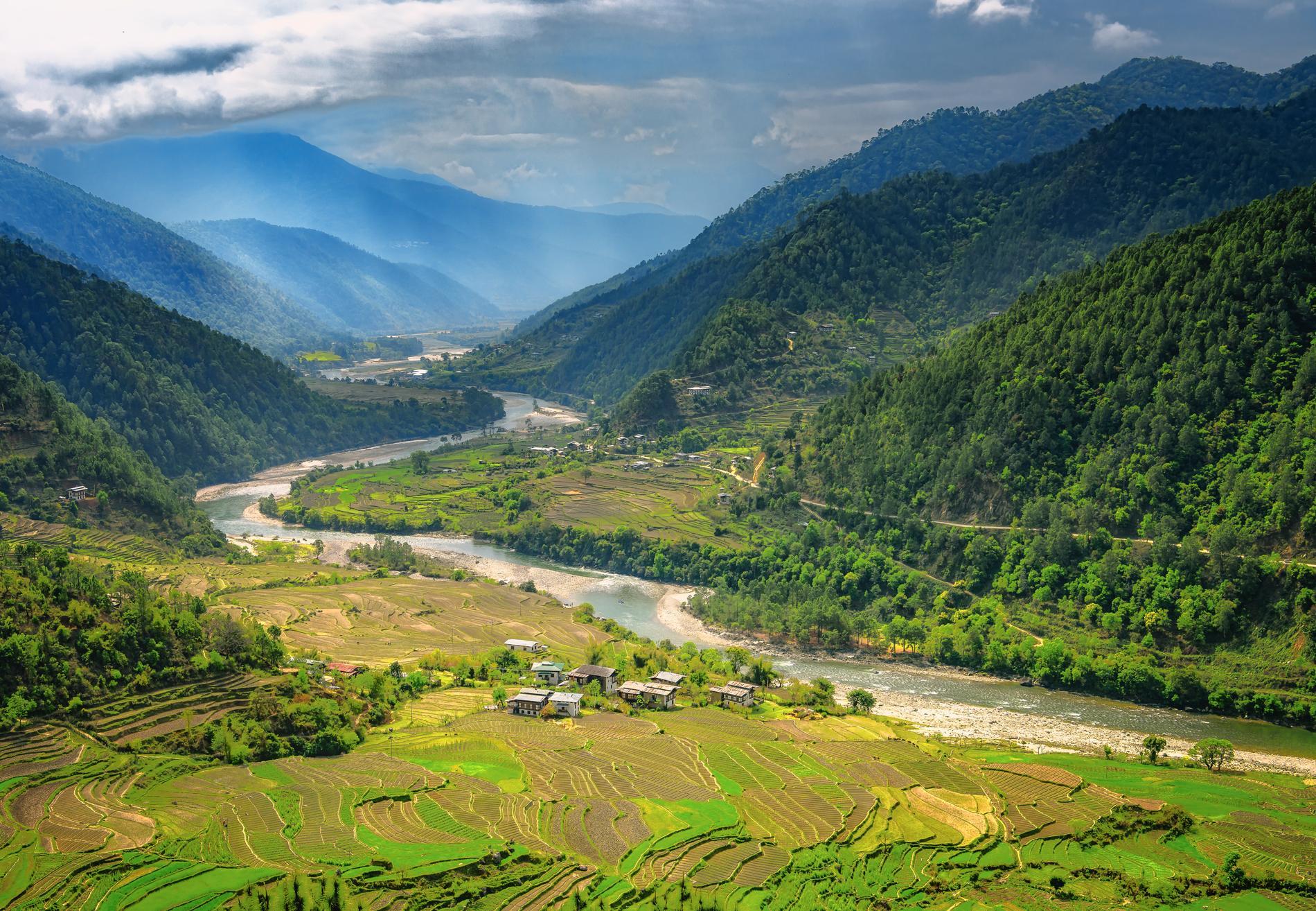 Lonely planet beskriver Bhutan som en liten del av paradiset.