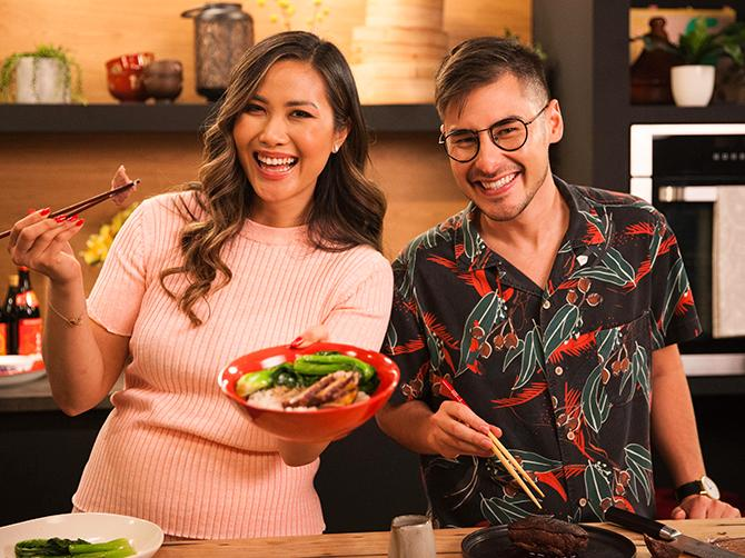 Diana Chan bjuder på en spännande resa genom det asiatiska köket.