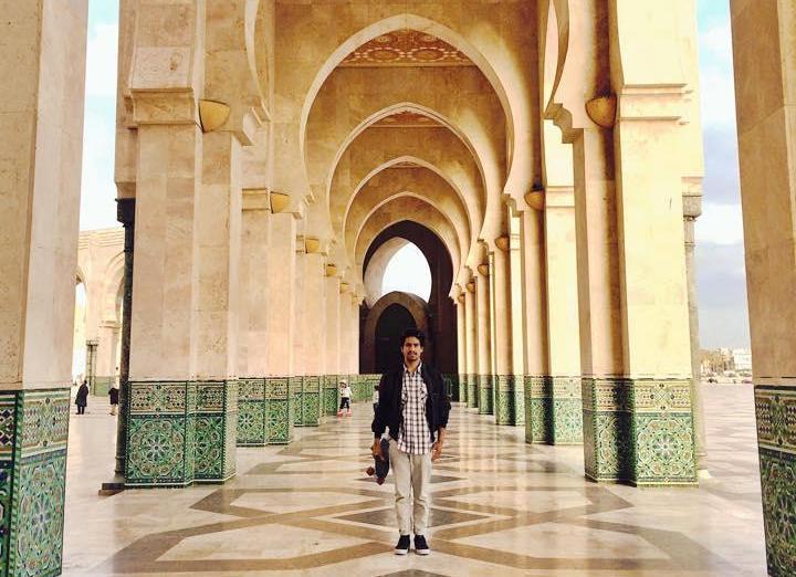 Hassan II:s moské är världens högsta moské, och finns i Casablanca.