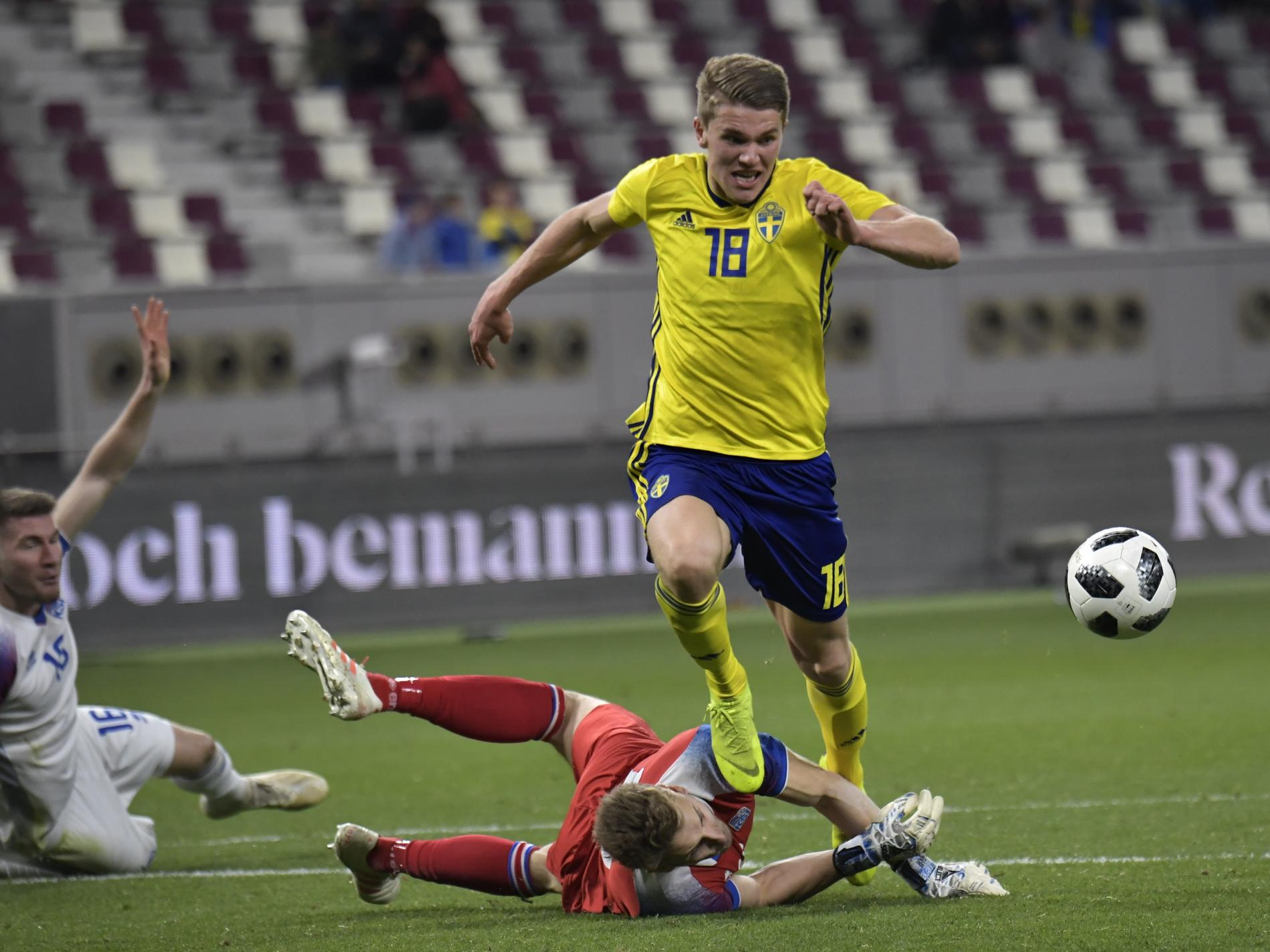 Viktor Gyökeres har gjort mål på nytt i Coventry. Arkivbild.
