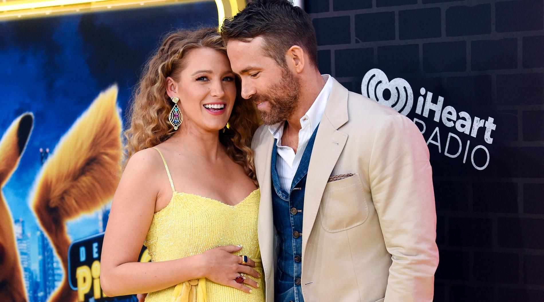 Blake Lively och Ryan Reynolds.