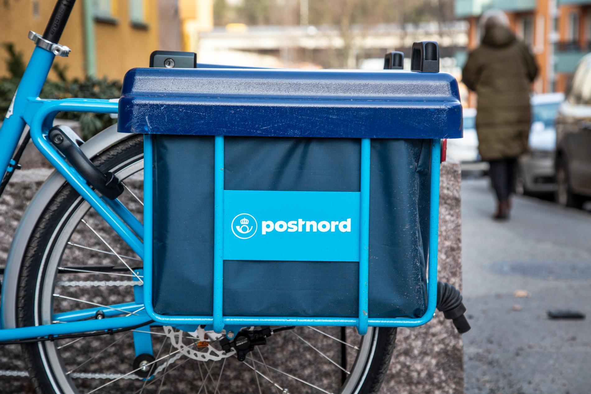 Postnord vill testa att bara dela ut post varannan dag på utvalda orter i Skåne. Arkivbild.