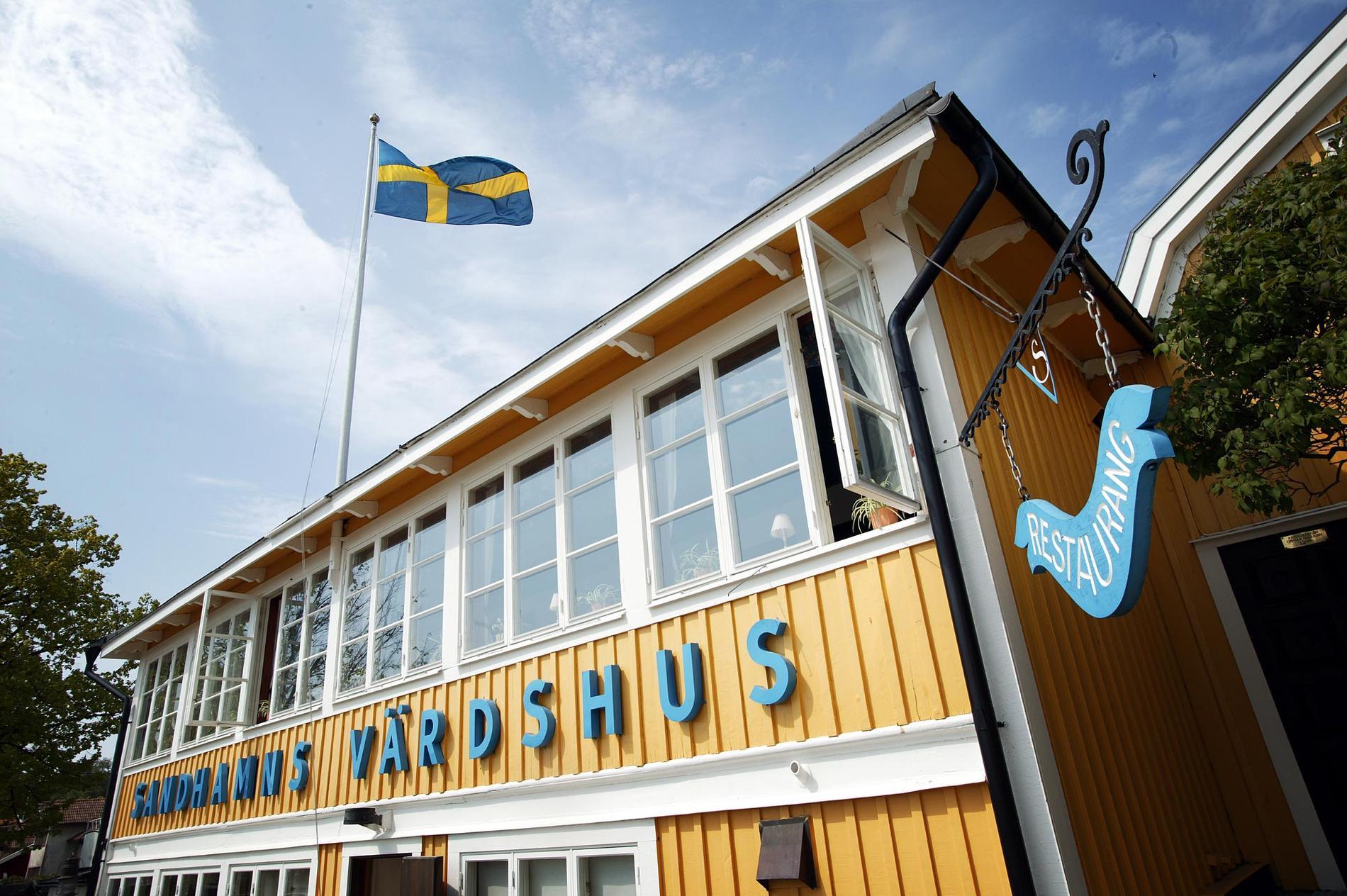 Sandhamn längst ut i Stockholms skärgård är känt bland annat för sitt värdshus med anor från 1600-talet.