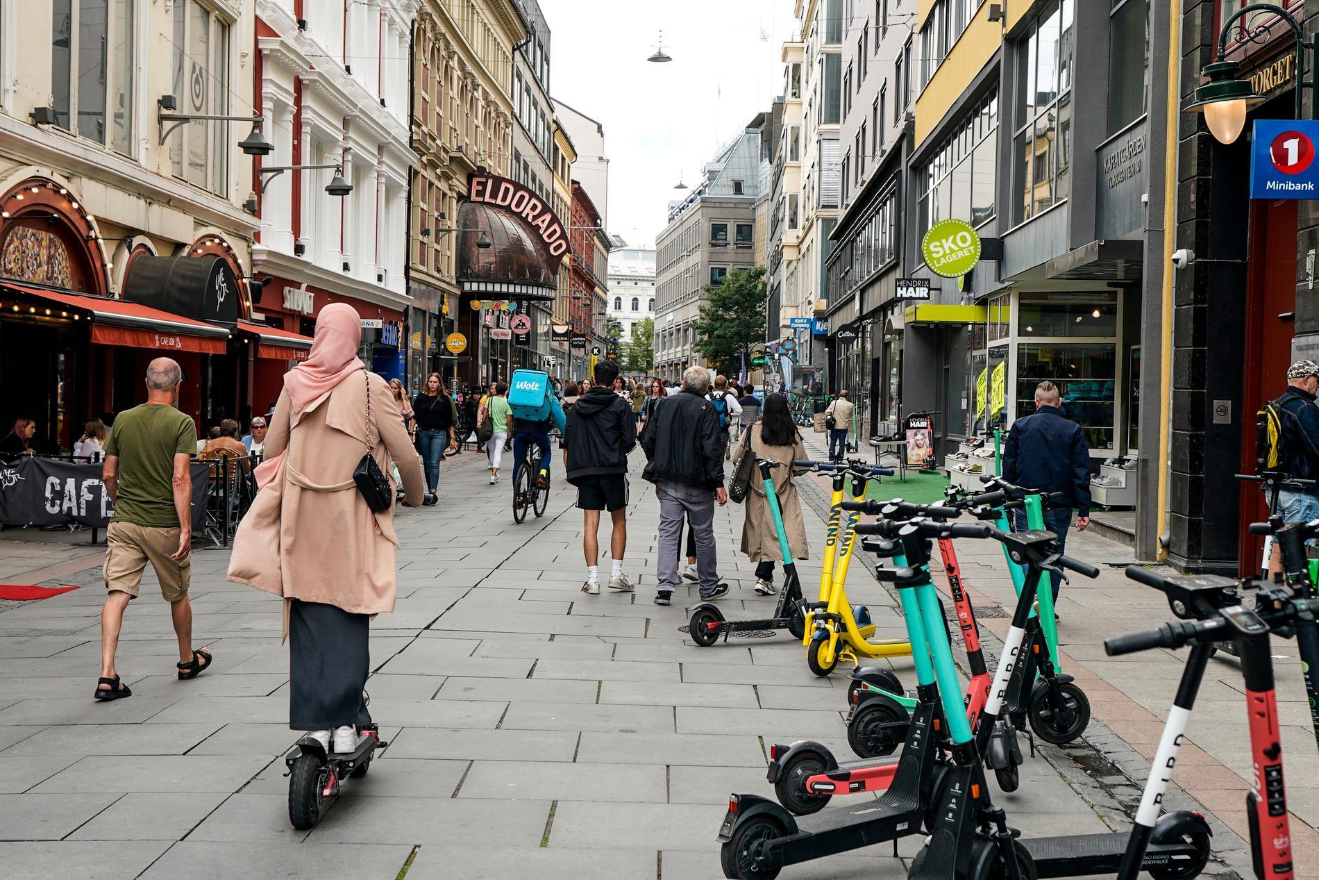 Coronasmittan ökar snabbt i Norges huvudstad Oslo. Arkivbild.