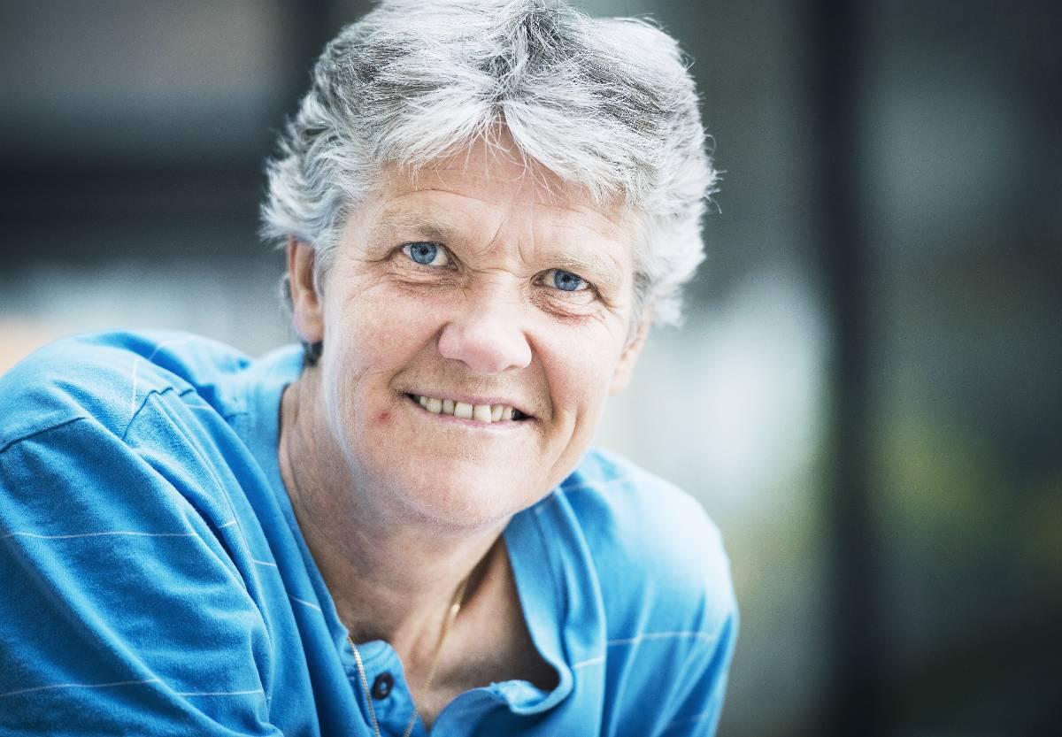 GILLAR LÄGET  Landslagstränaren Pia Sundhage medverkar i en ny antologi om klimakteriet.