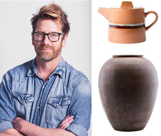 """T h: Keramik kommer fortsätta vara populärt. Tekanna, 599 kr, Hk living.  Vas i keramik, 2029 kr, Living.se. """"Jag tilltalas av den här medelhavsstilen"""", säger Stefan Nilsson, trendanalytiker."""