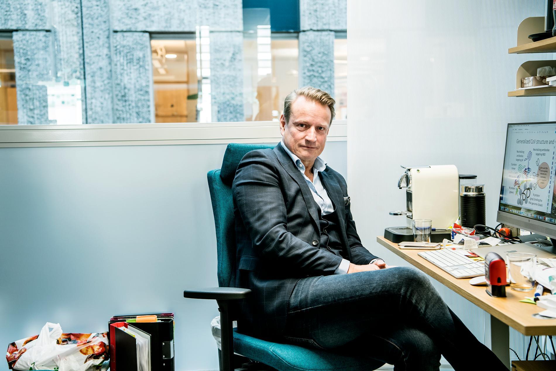 Matti Sällberg vid Karolinska institutet där man också arbetar på ett vaccin.