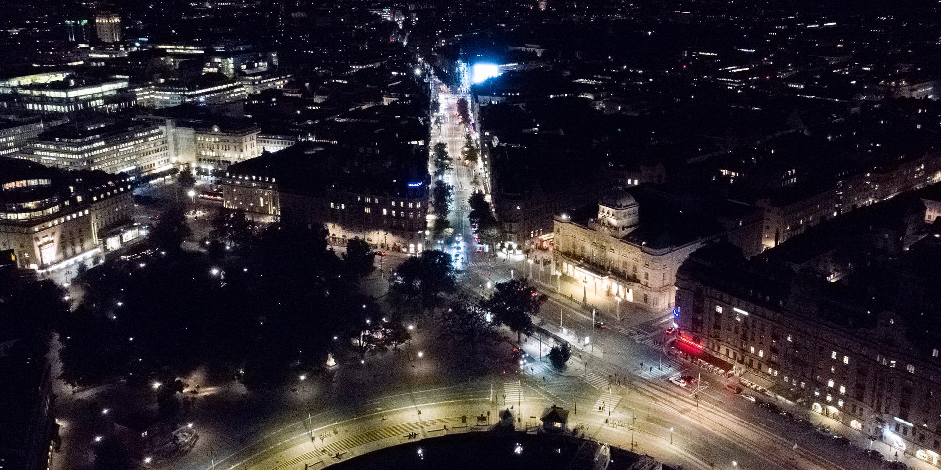 Illustrationsbild: Vy över Stockholm nattetid.