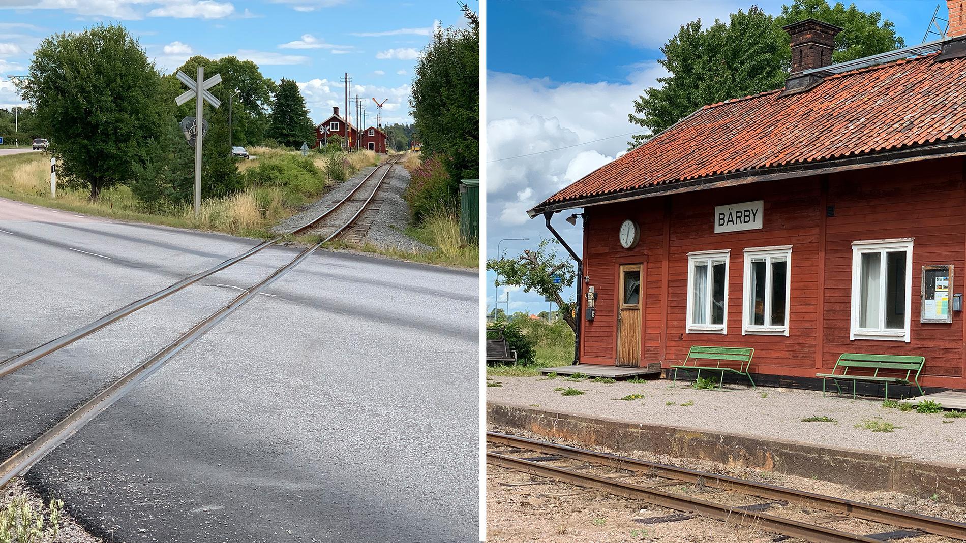 Ingen vet vem den gamla gumman var som sägs ha räddat familjen från att krossas av tåget.