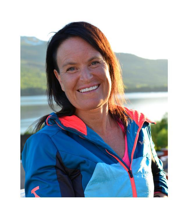 Charlotte Grönlund, vandringsexpert på Svenska turistföreningen (STF).
