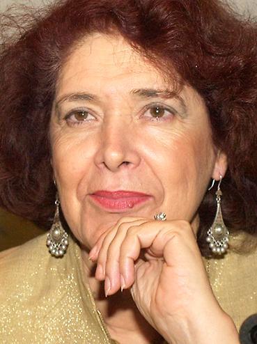 Assia Djebar, algerisk författare.