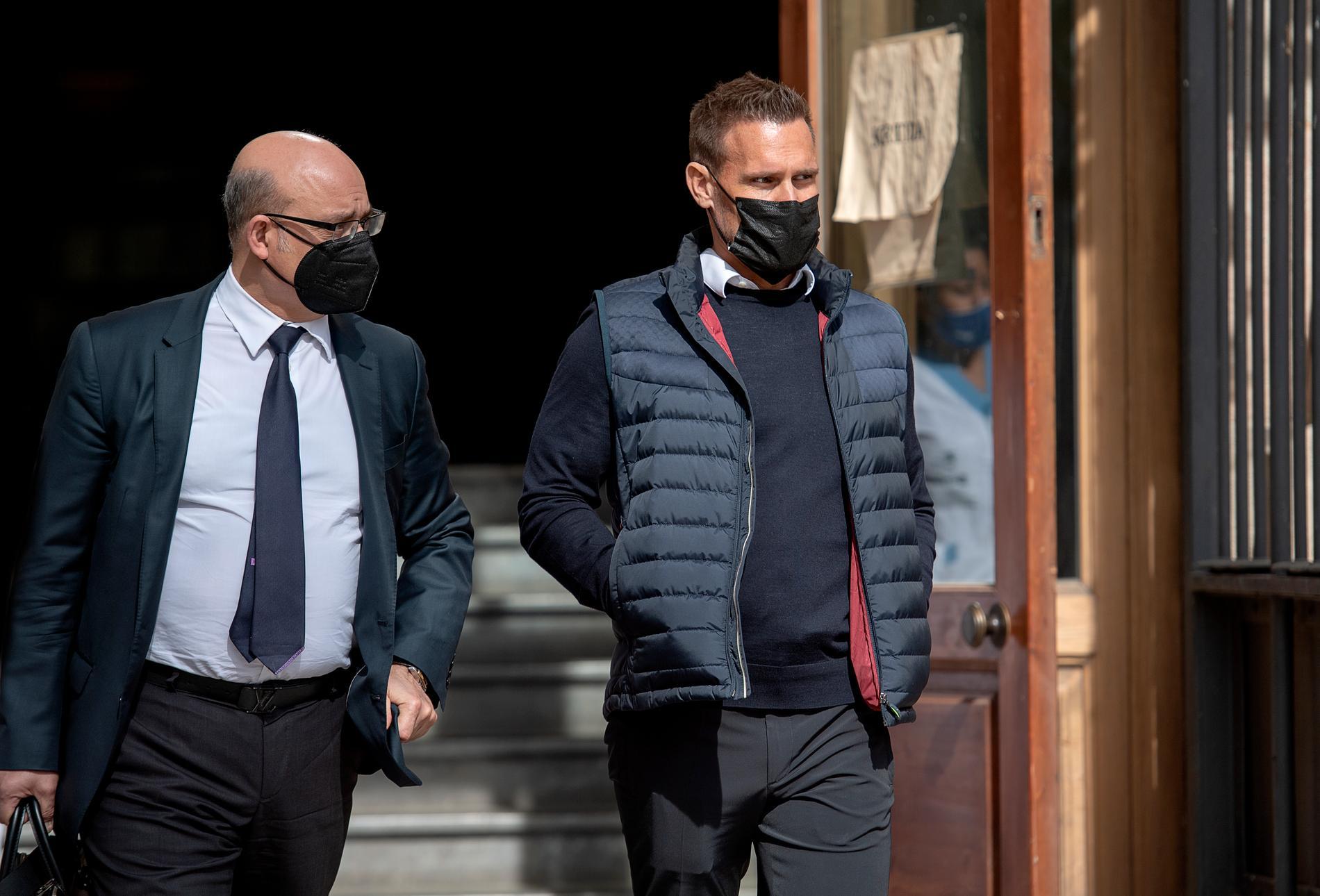 Jonas Falk riskerar 20 års fängelse i Spanien.