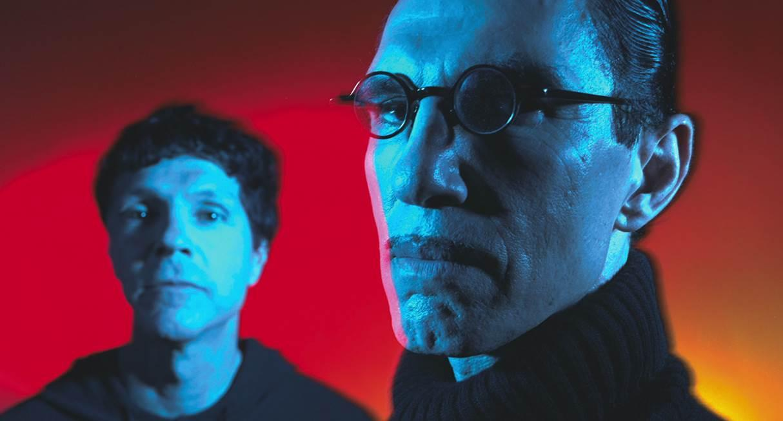 """Russell och Ron Mael, aktuella med """"The Sparks brothers"""", en dokumentär regisserad av Edgar Wright."""
