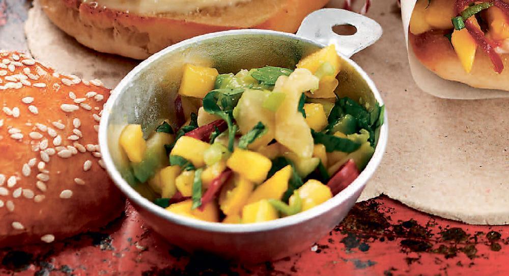 Mango- & avokadosalsa