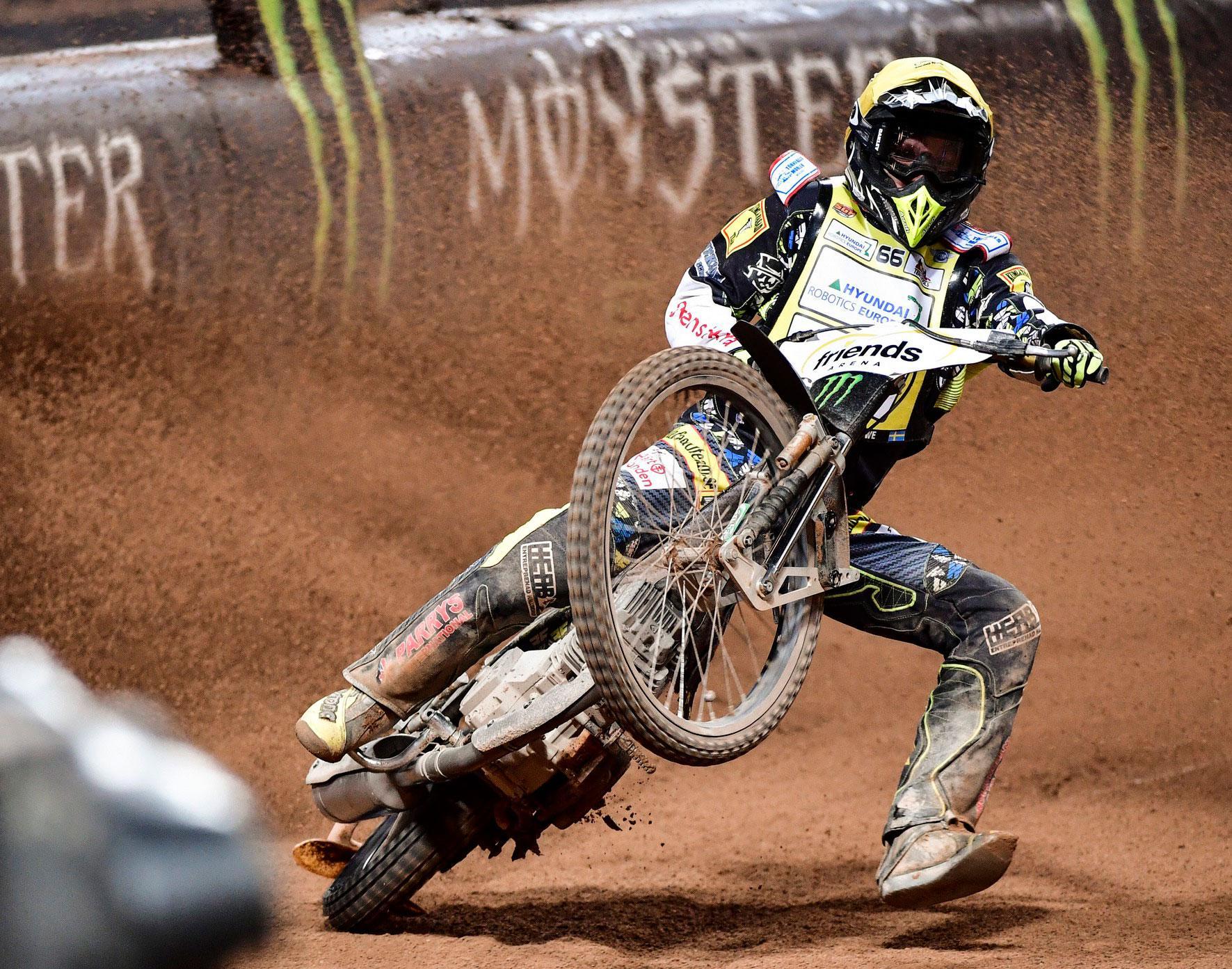 Lindgren är ensam svensk i GP-serien.