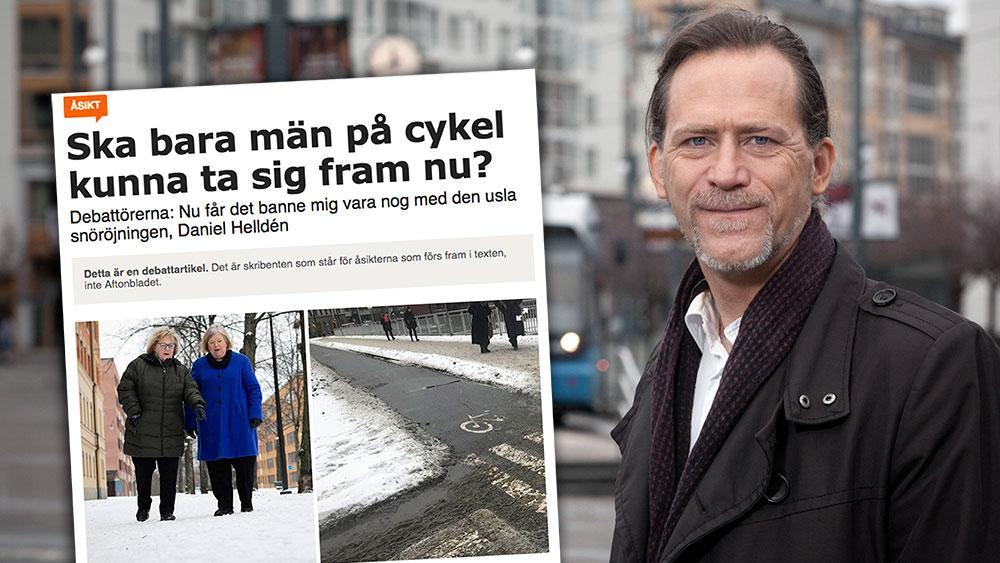 Det är en större utmaning att snöröja i Stockholm, där temperaturen pendlar runt nollgradigt under stora delar av vintern, än i ett klimat där det är både varmare eller kallare, skriver Daniel Helldén.