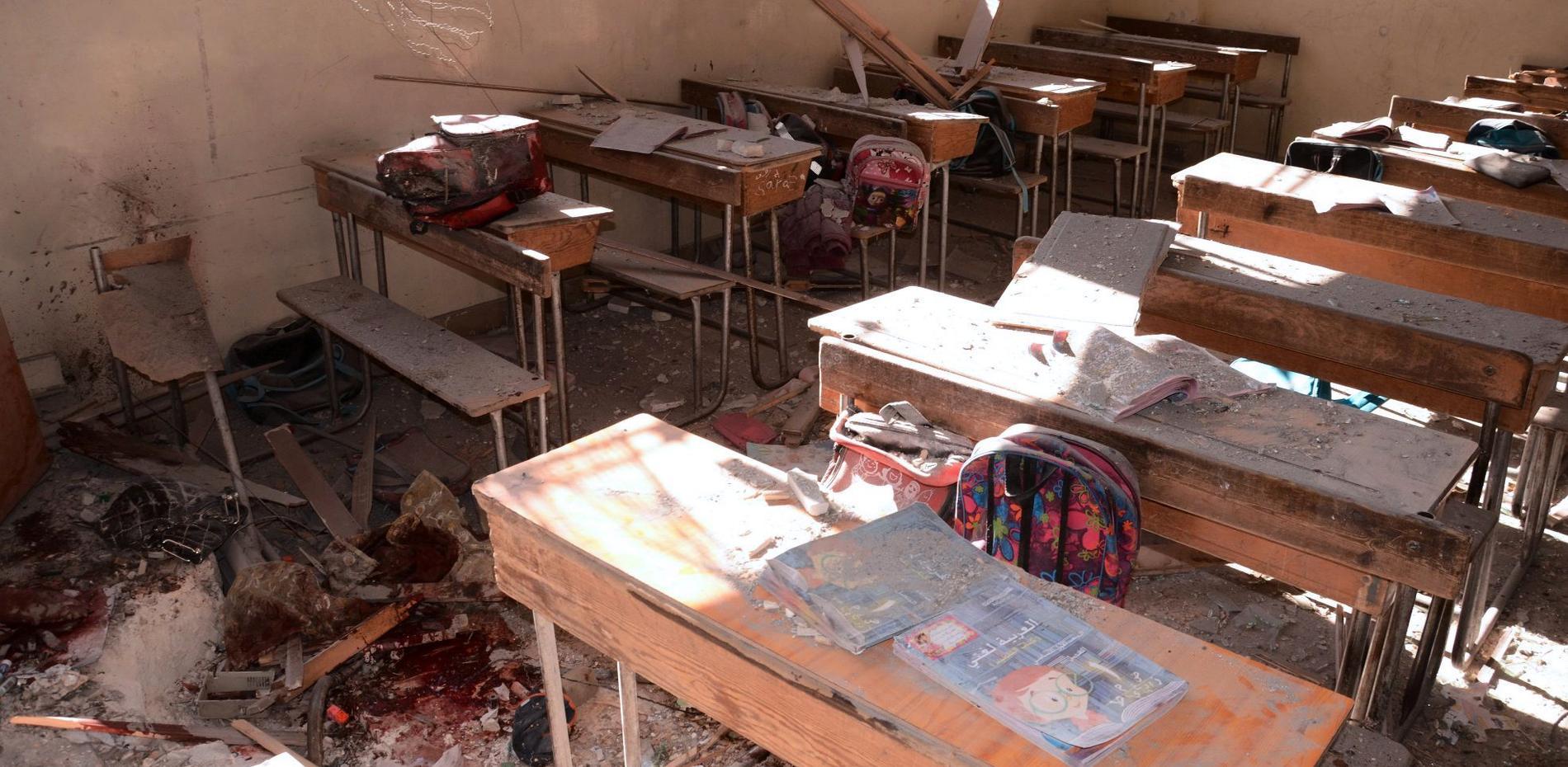 Tre miljoner syriska barn saknar skolgång