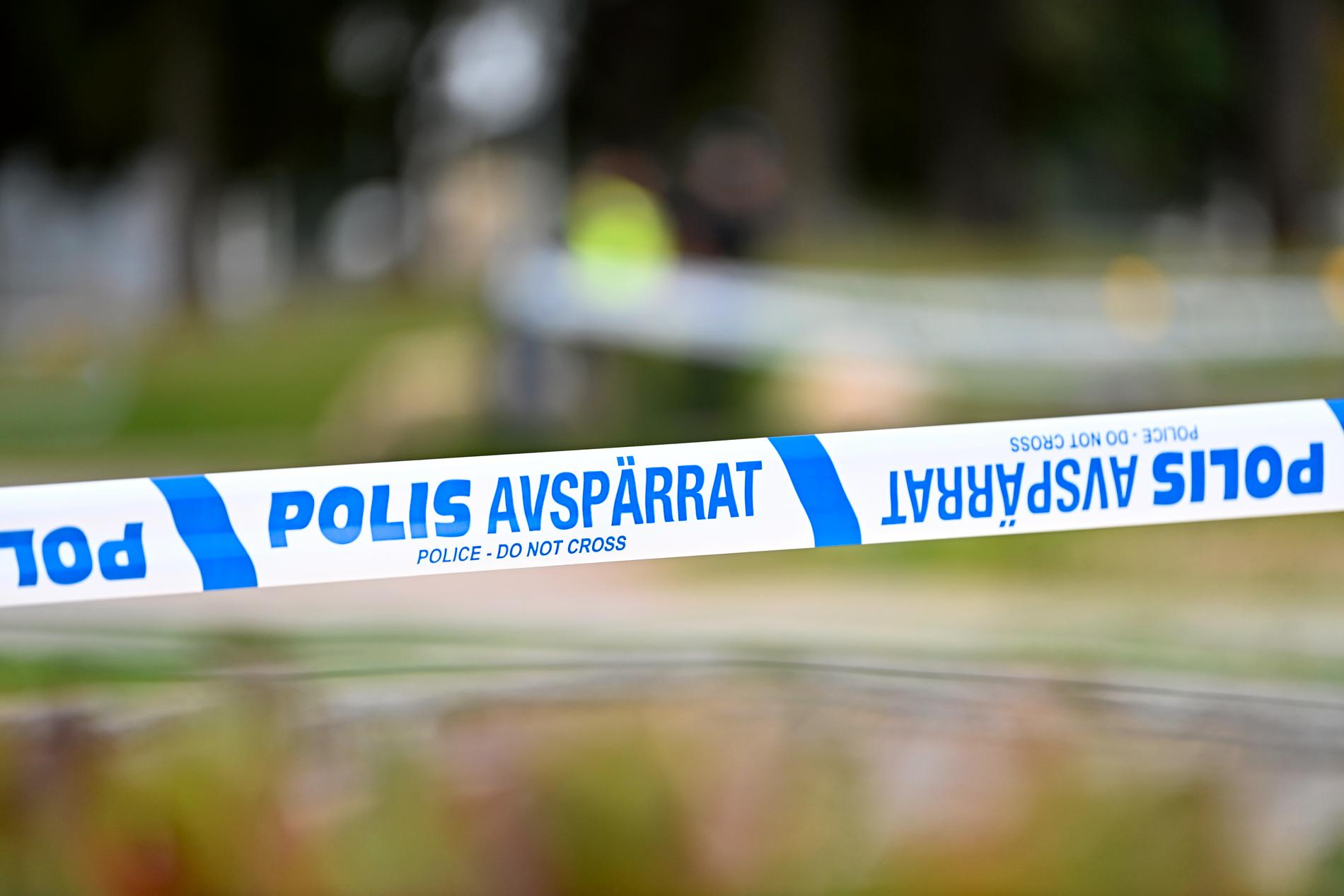 En kvinna har dött i samband med ett rollspel i skogen i Hällefors kommun. Arkivbild.