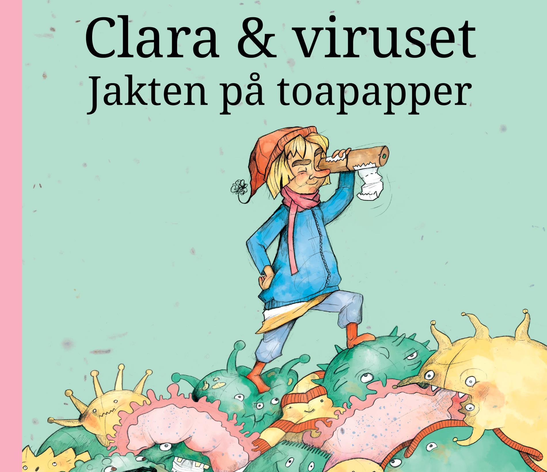 """Vinn boken """"Clara & viruset"""""""