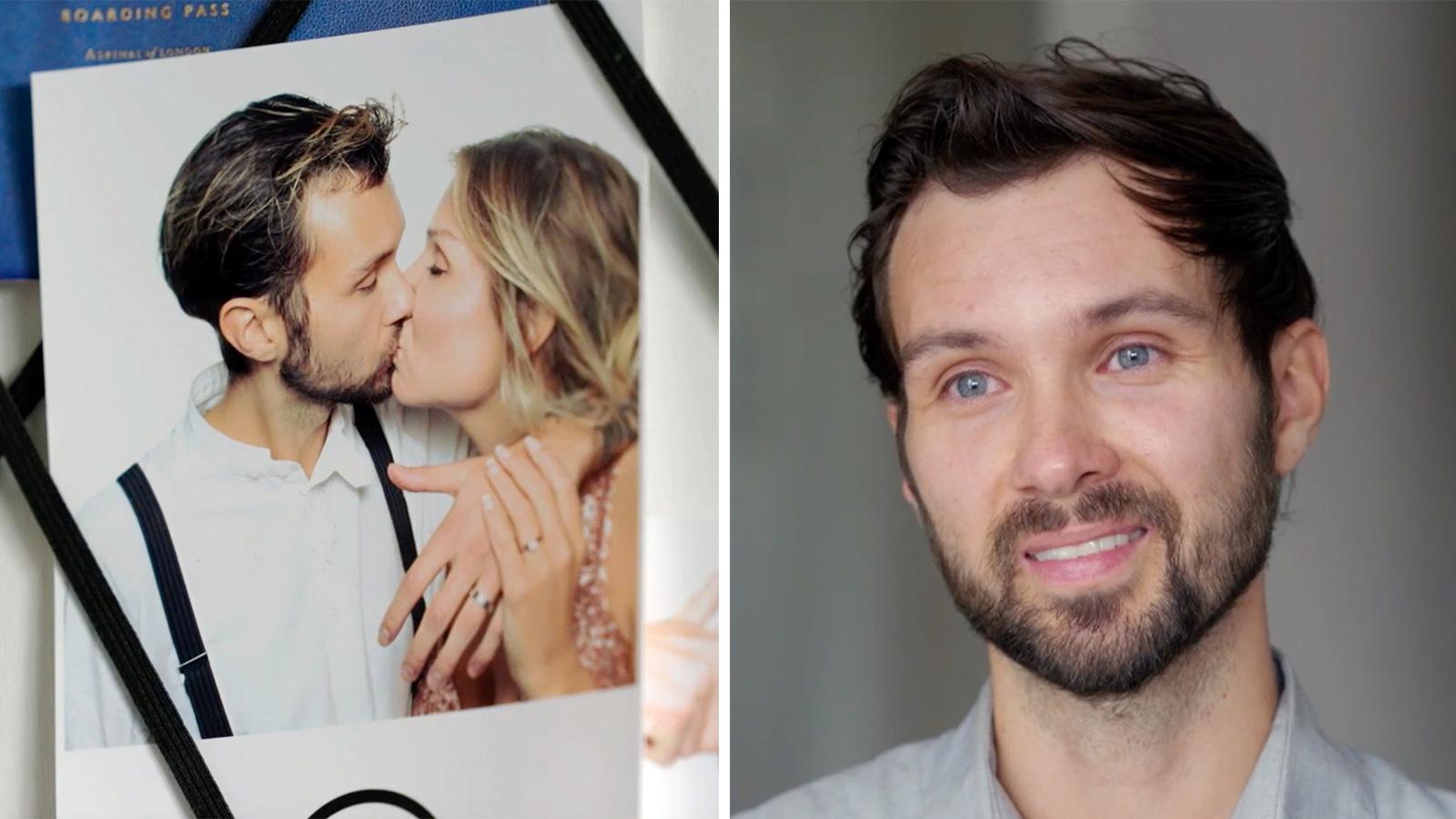 Isak Thern träffade Martina på Barncancergalan 2017 och snart planerar de att gifta sig.