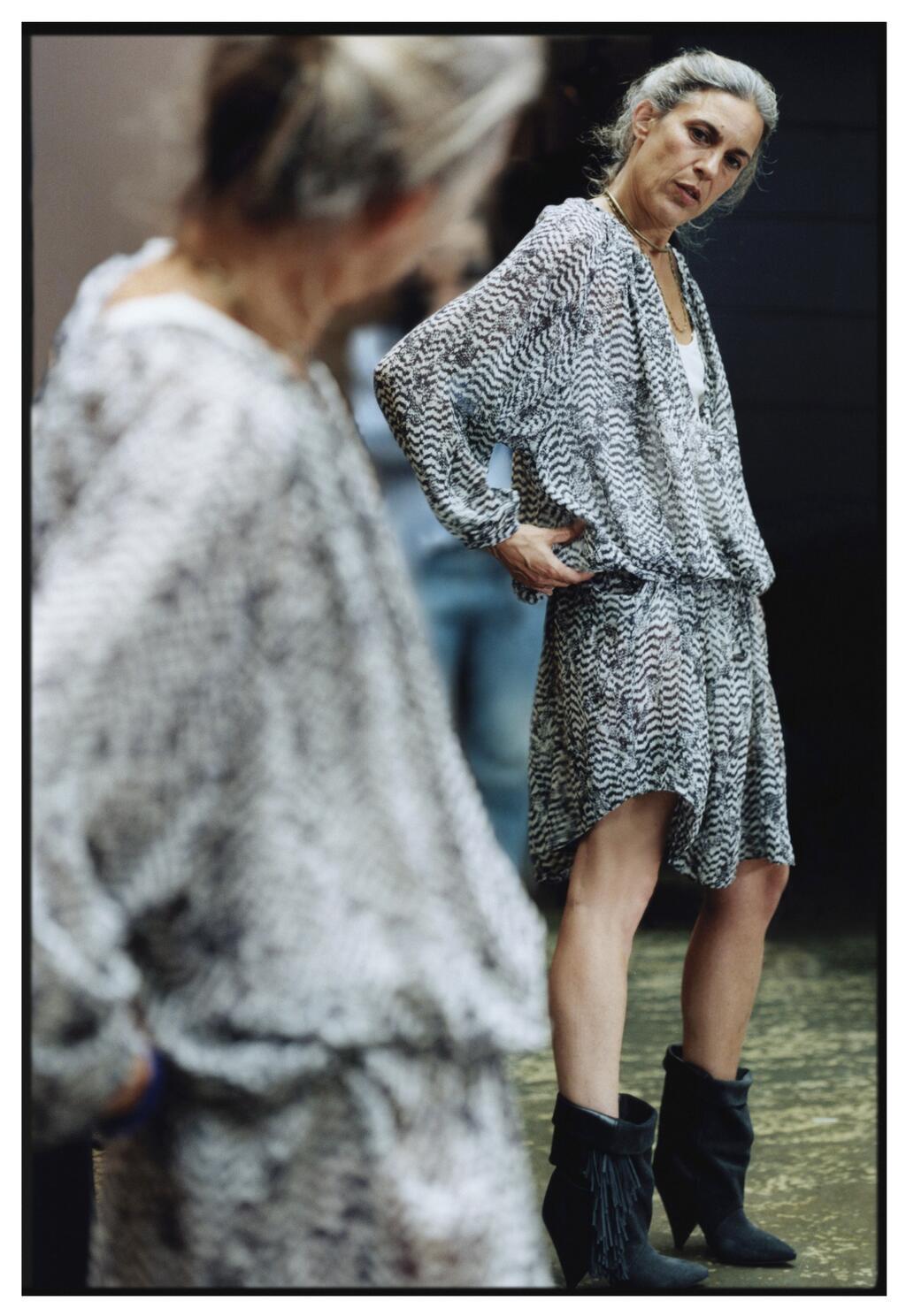 Isabel Marant visar första tjuvkiken på kollektionen för H&M som släpps i höst.