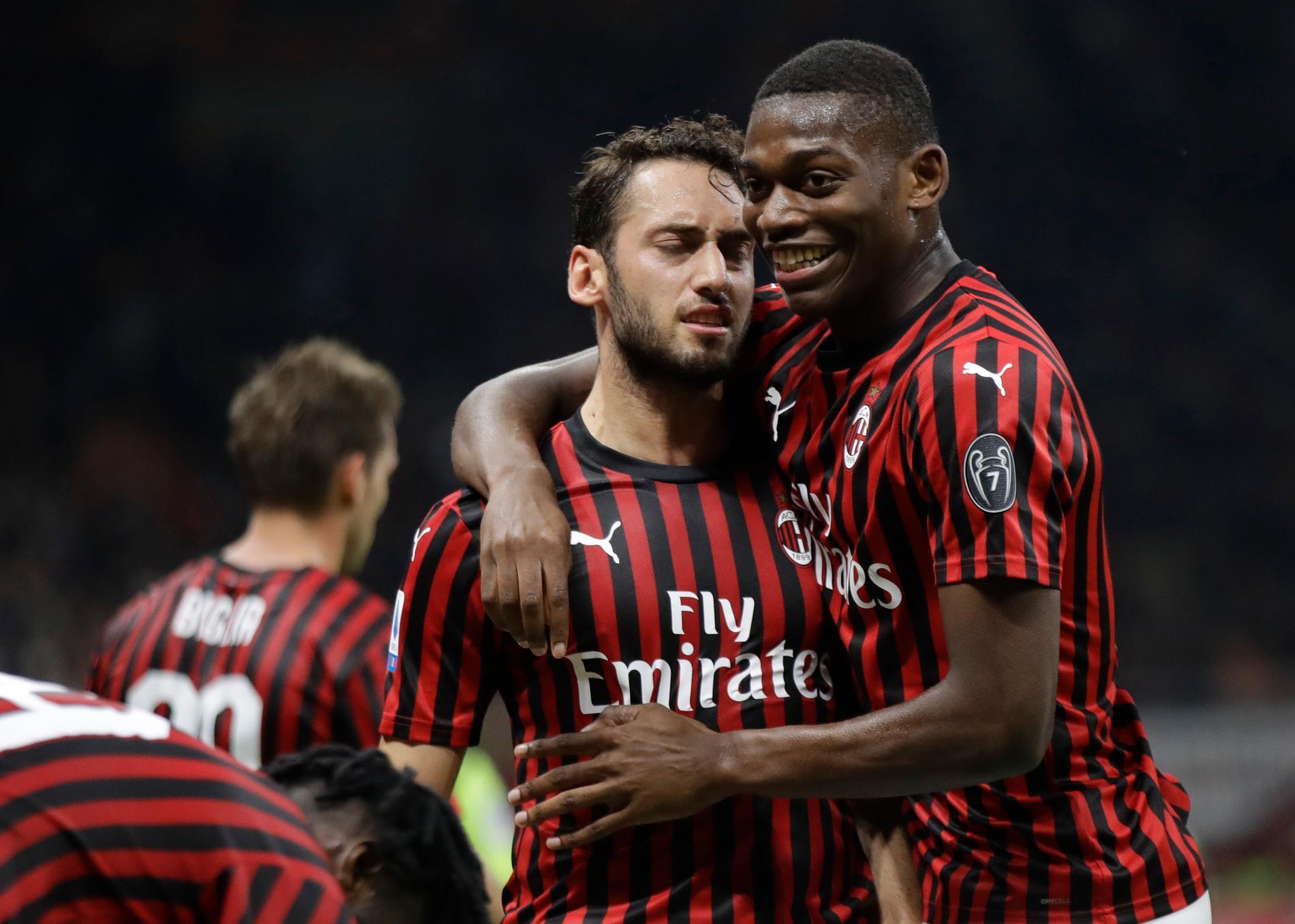 Milans varumärke ska locka spelare även i Sverige.