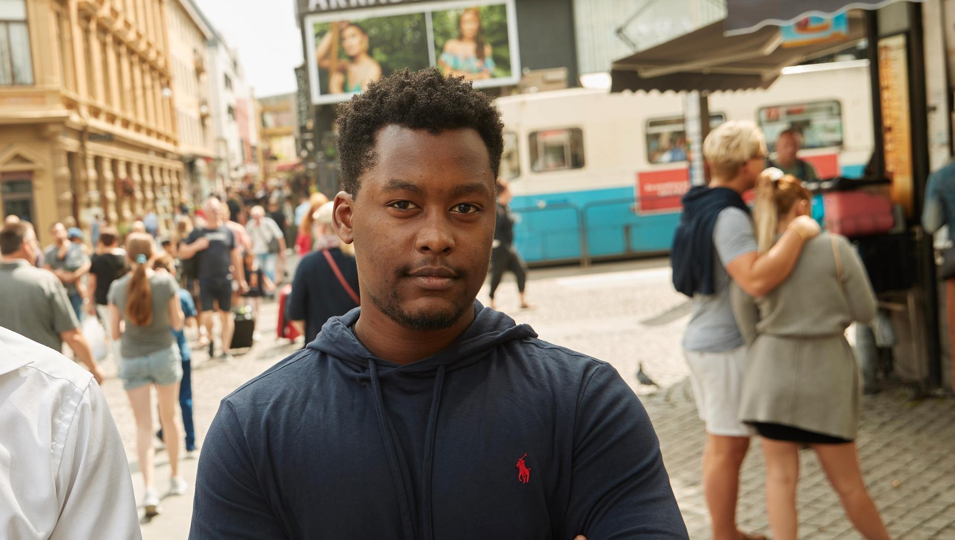 Michael Ngibuini, 20.