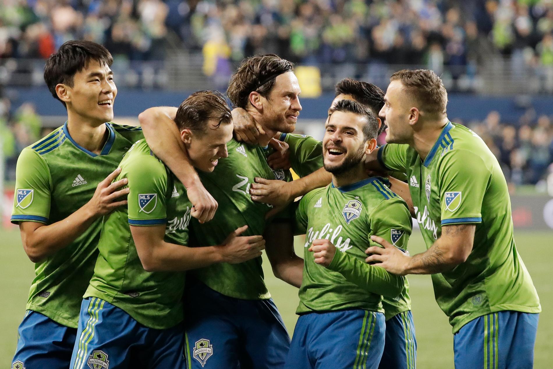 Seattle Sounders blev MLS-mästare i fjol. Arkivbild.
