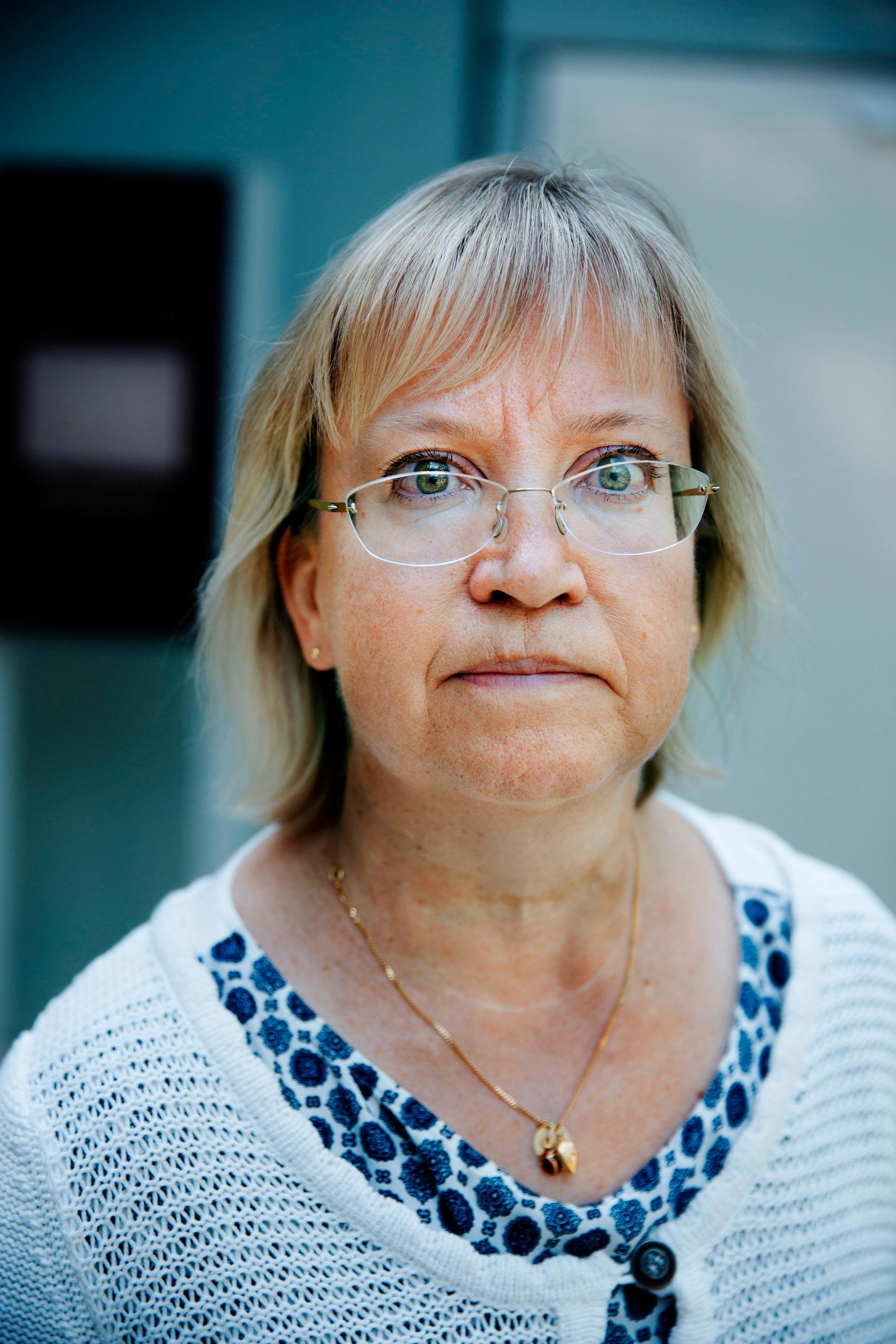 Chefslagmannen Lena Egelin har de uppmärksammade nämndemännens framtid på Solna tingsrätt i sin hand.