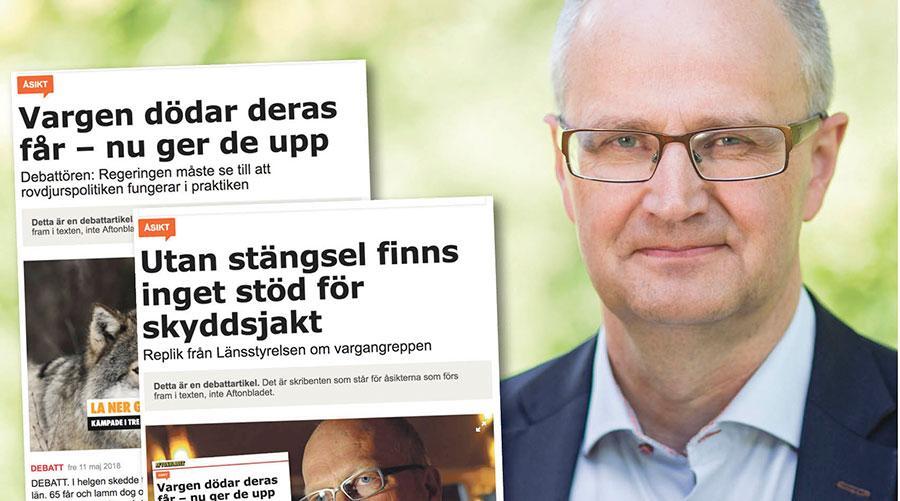 Lagen kräver inte att lantbrukare måste stängsla ute statens rovdjur, skriver Palle Borgström, förbundsordförande LRF.
