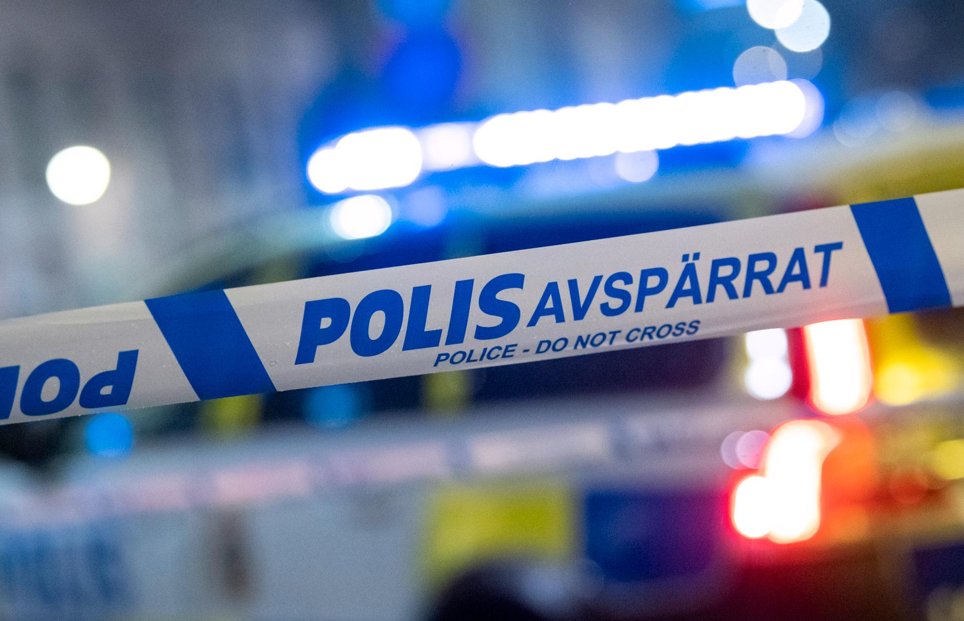 Två personer är anhållna misstänkta för mordförsök i Eskilstuna. Arkivbild.