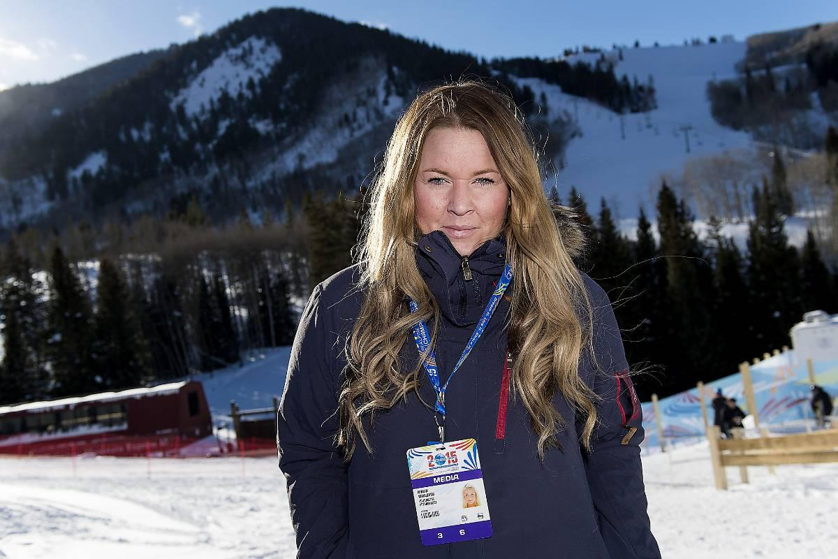 Sportbladets Malin Wahlberg.