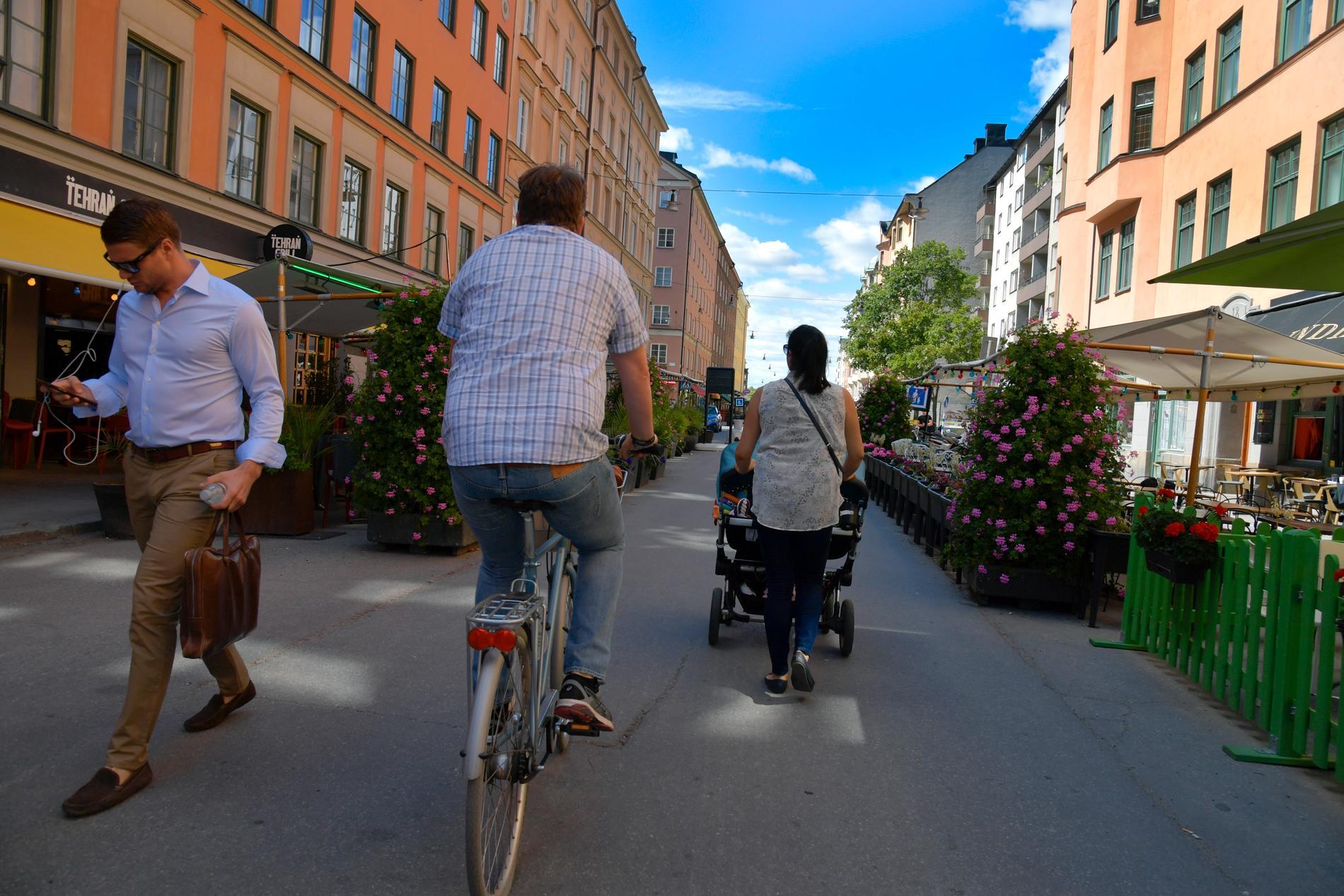 Nio av tio olyckor där en cyklist omkommer, kan undvikas, enligt en ny studie. Arkivbild.