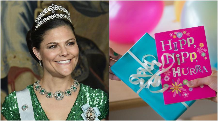 Den 14 juli fyller kronprinsessan Victoria 40 år.