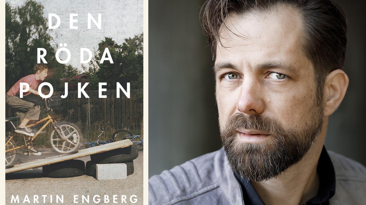 """Martin Engberg (född 1974), debuterade 2006 med novellsamlingen """"Tecknen runt huset"""" och hans senaste roman var """"En enastående karriär"""" (2017)."""