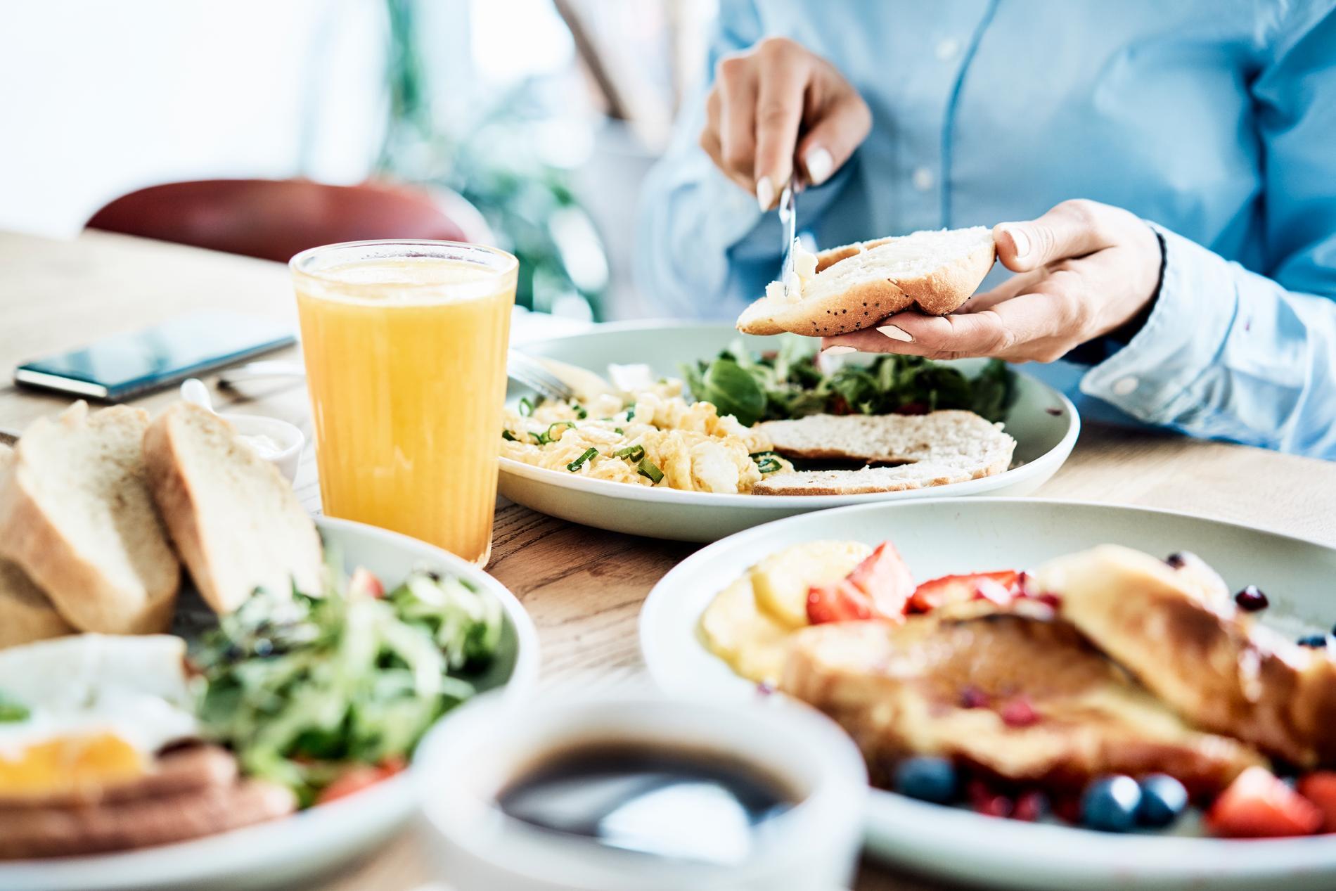 En god måltid kan verkligen sätta guldkant på vardagen.