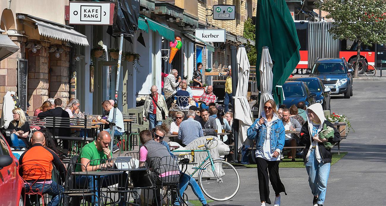 Nytorget på Södermalm i Stockholm.
