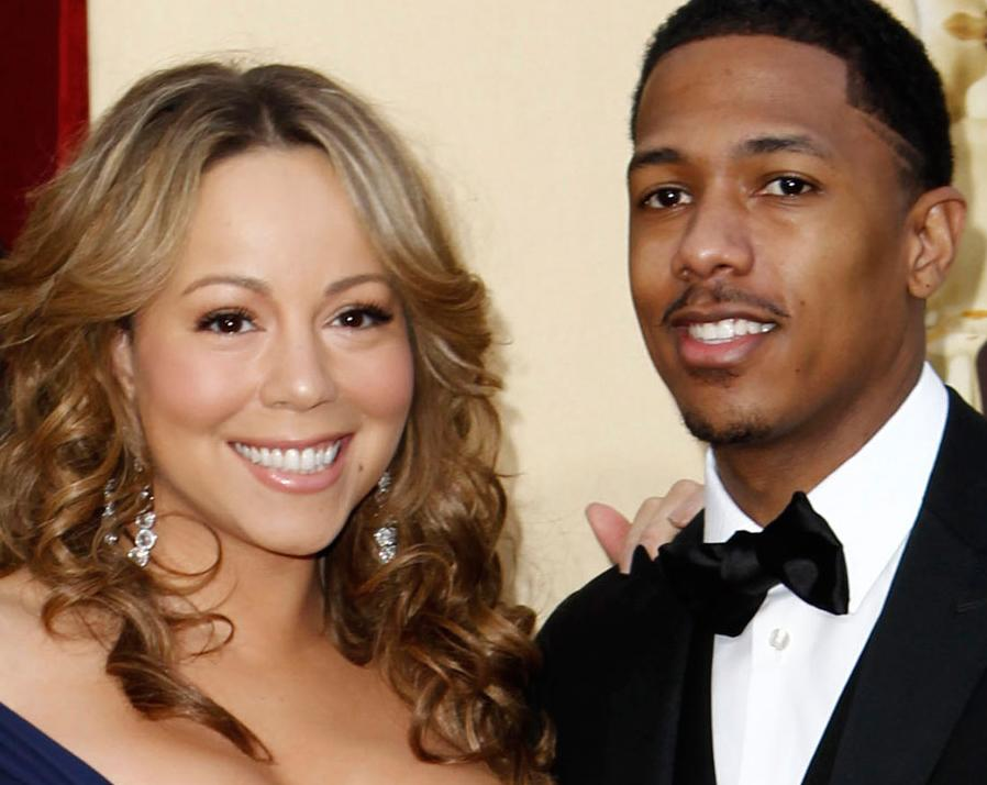Mariah Carey och Nick Cannon.