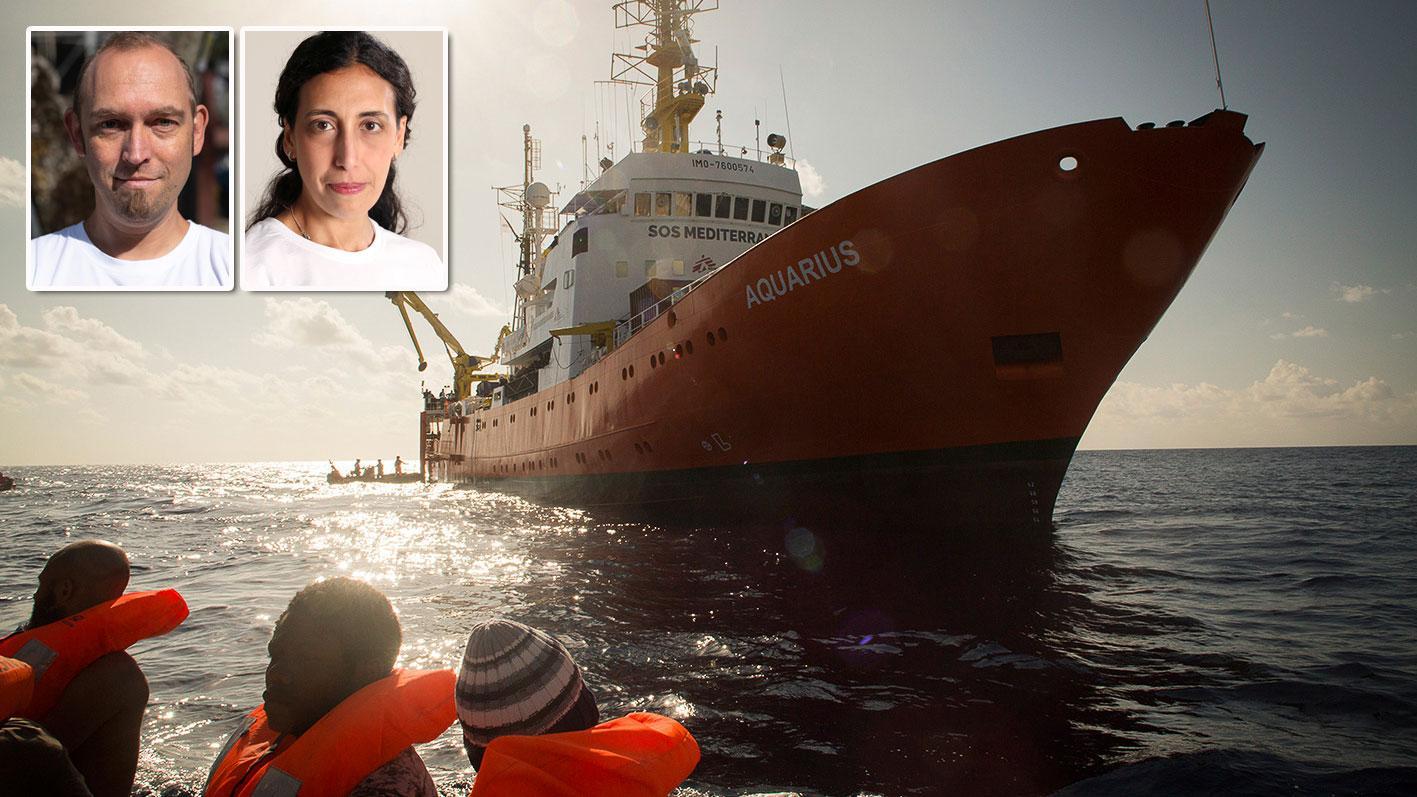 Räddningsfartyget Aquarius avregistrering är nådastöten i raden av politiska manövrar för att få bort humanitära organisationer från centrala Medelhavet, skriver Katrin Kisswani och Oliver Schulz vid Läkare utan gränser.