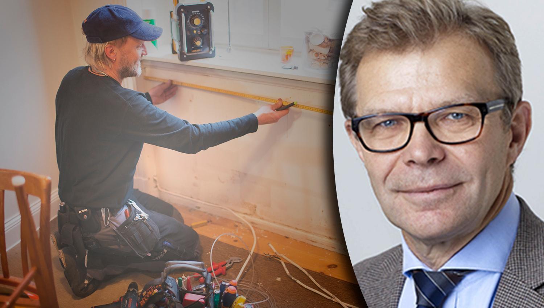 Det är elektrikern och elfirman som ansvarar för att elen i ditt hem är säker och installerad enligt alla normer. Att antyda att det är ett jobb som vem som helst klarar är helt fel, skriver Installatörsföretagens vd Ola Månsson.
