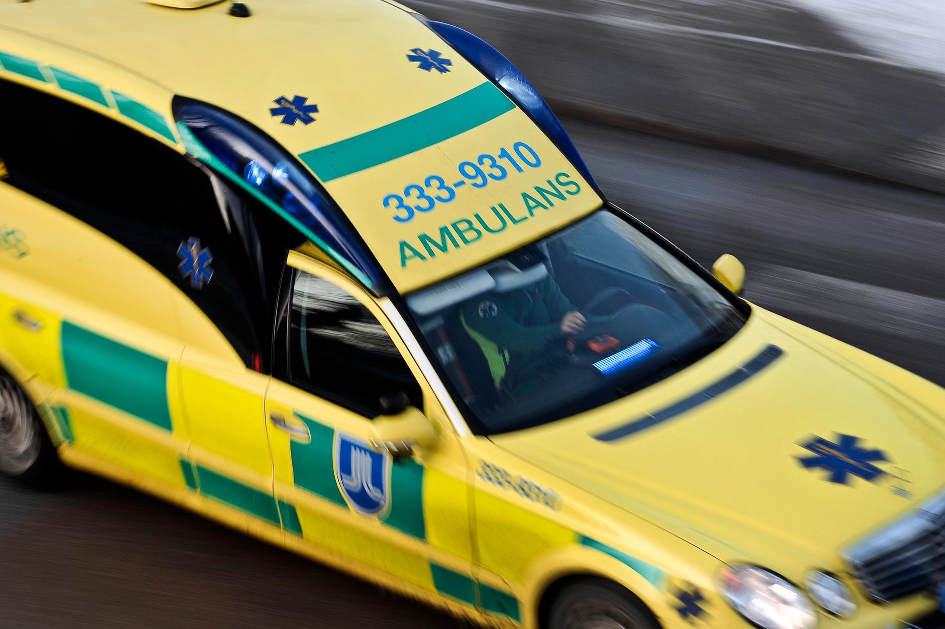 En kvinna har blivit misshandlad i Jönköping. Arkivbild.