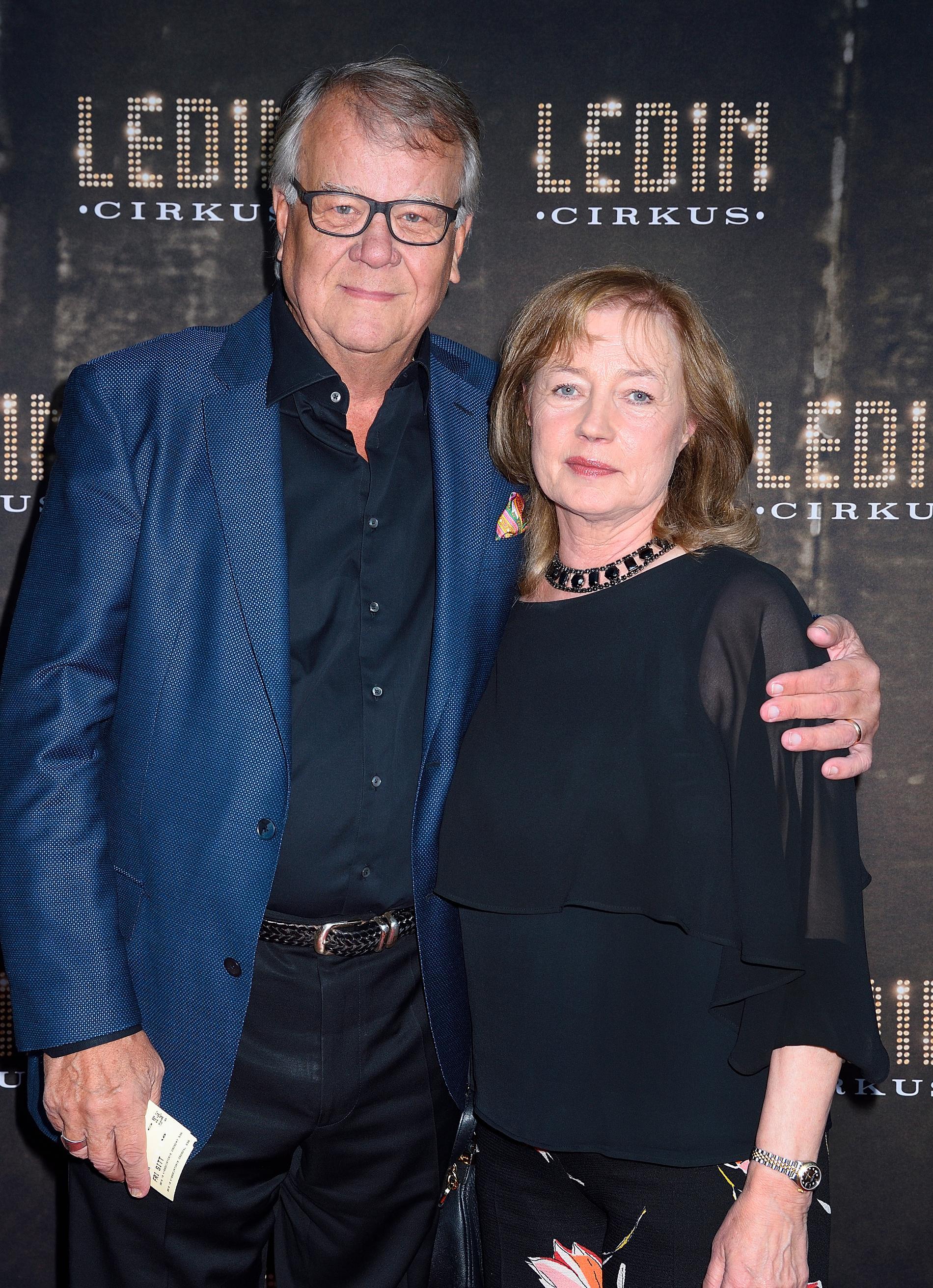 Lasse Berghagen och kärleken Eva Strand har varit gifta sedan 1976.
