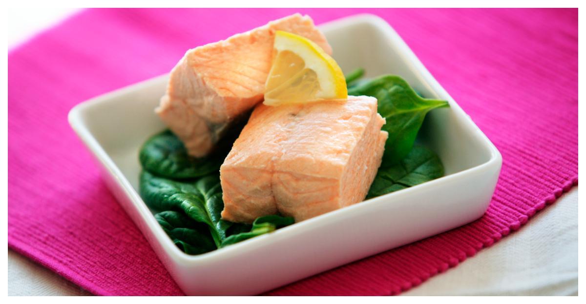 Inkokt lax – fräsch och god på middagsbordet.